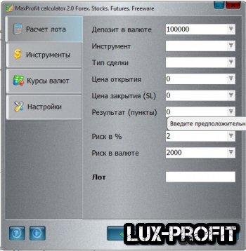 MaxProfit Calculator