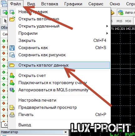 Как установить форекс индикатор в торговый терминал МТ4